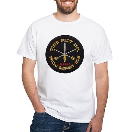Detroit Police SRT White T-Shirt