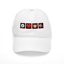 I Love Catfish Baseball Cap