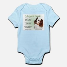 Clumber Spaniel Puppy Infant Bodysuit