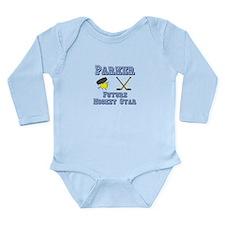 Parker - Future Hockey Star Long Sleeve Infant Bod