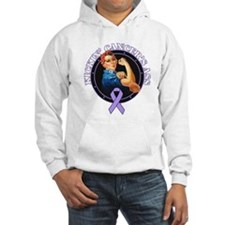 Kicking Cancer's Ass Jumper Hoody