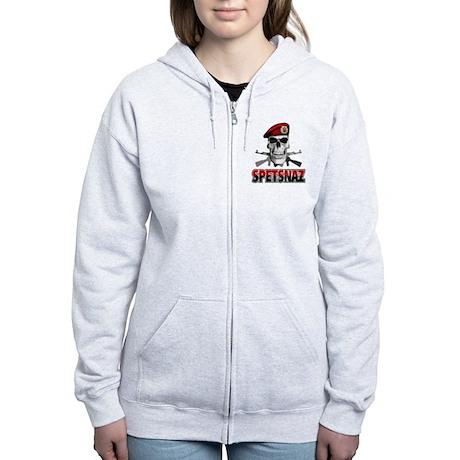 Russian Spetsnaz Women's Zip Hoodie