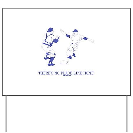 Home Funny Baseball Yard Sign