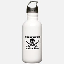 Oil Field Trash,Skull Water Bottle