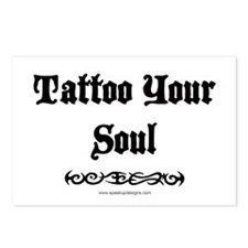 Tattoo Your Soul Postcards (Package of 8)