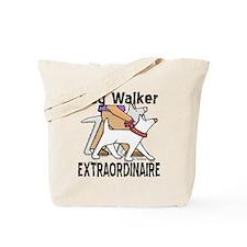 Dog Walker Extraordinaire Tote Bag