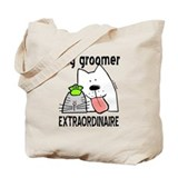 Dog groomer Canvas Bags