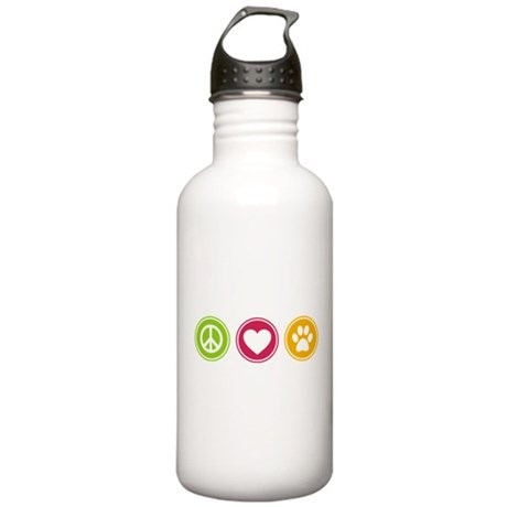 Peace - Love - Dogs Stainless Water Bottle 1.0L
