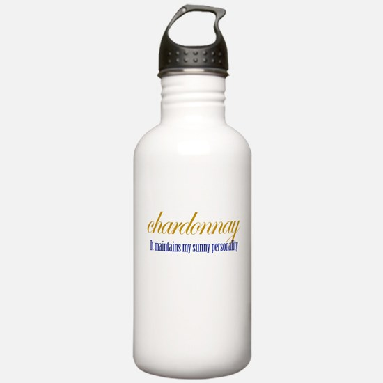 Chardonnay Water Bottle