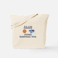 Alan - Future Basketball Star Tote Bag