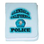 Glendale PD Gang Squad baby blanket