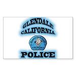 Glendale PD Gang Squad Sticker (Rectangle 50 pk)