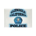 Glendale PD Gang Squad Rectangle Magnet