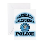 Glendale PD Gang Squad Greeting Cards (Pk of 20)