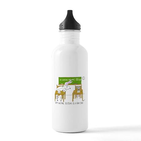 Animal Testing Stainless Water Bottle 1.0L