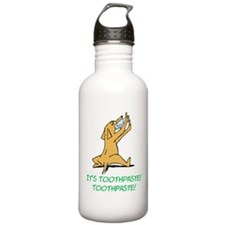 Cartoon Rabid Dog Water Bottle