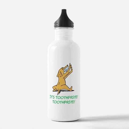 Cartoon Rabid Dog Water Bottle