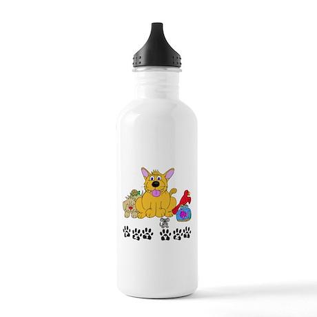 Pet Veterinarian Stainless Water Bottle 1.0L