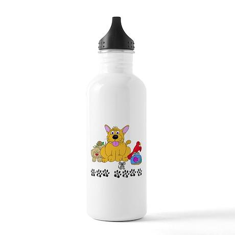 Pet Vet Tech Stainless Water Bottle 1.0L