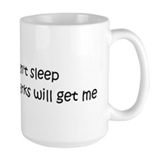 Can't sleep, Aardvarks will g Mug