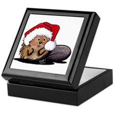 Christmas Beaver Keepsake Box