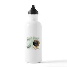 English Mastiff Water Bottle