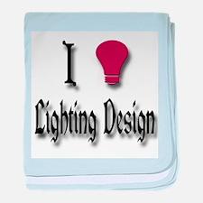 Love Lighting Design baby blanket