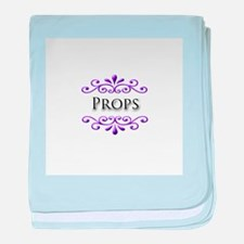 Props Name Badge baby blanket