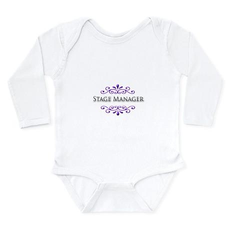 Stage Manager Name Badge Long Sleeve Infant Bodysu