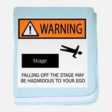 Warning: Stage Fall baby blanket