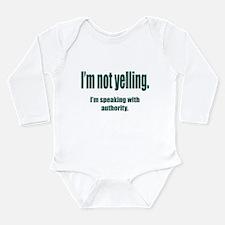 Authority Long Sleeve Infant Bodysuit