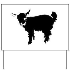 Cute Goat Yard Sign