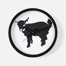 Funny Goats Wall Clock