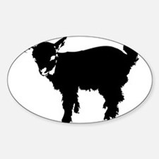 Black Baby Goat Decal
