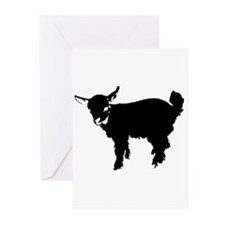 Unique Goat Greeting Cards (Pk of 10)