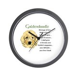 Goldendoodle Wall Clocks
