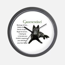 Groenendael Wall Clock