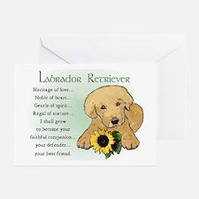 Labrador Retriever Greeting Cards (Pk of 10)