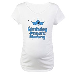 3rd Birthday Prince's Mommy Maternity T-Shirt