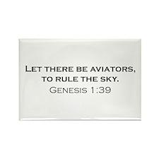 Aviators / Genesis 1:39 Rectangle Magnet