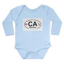Needles Long Sleeve Infant Bodysuit