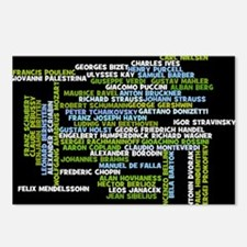 Composers Postcards (Package of 8)