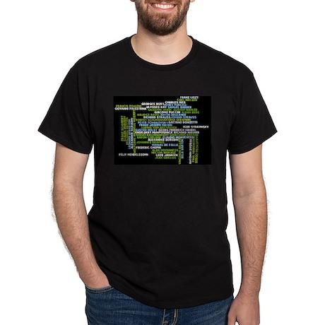 Composers Dark T-Shirt