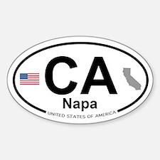 Napa Sticker (Oval)