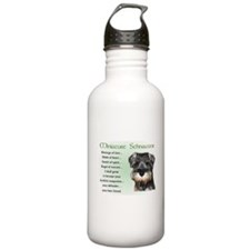 Miniature Schnauzer Water Bottle