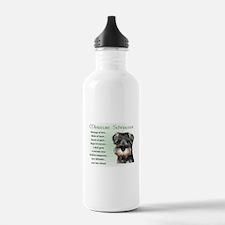 Miniature Schnauzer Water Bottle