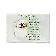 Pekingese Rectangle Magnet (10 pack)