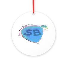 Castle Island SB Ornament (Round)