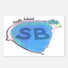 Castle Island SB Postcards (Package of 8)