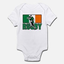 rugby ireland flag Infant Bodysuit